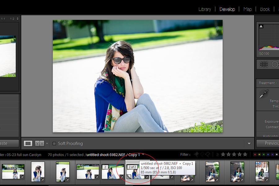 lightroom virtual copy