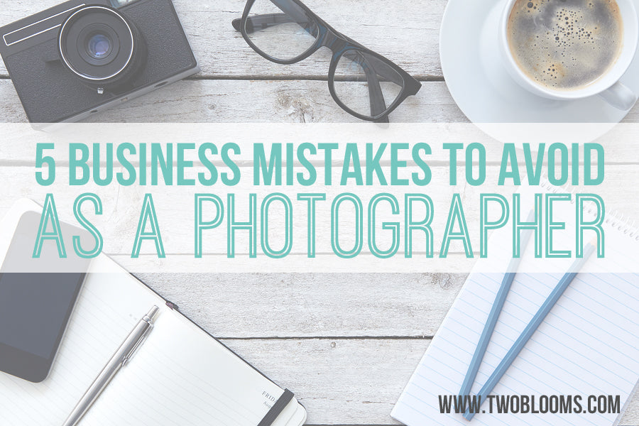 5 mistakes to avoid as a new photographer