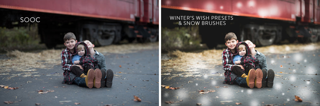 snow lightroom presets