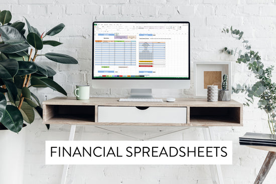 Financial spreadsheets for photographers