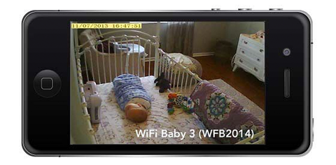 iPhone som baby monitor
