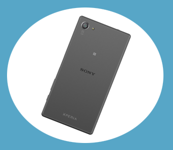 Sony Xperia Z5 Compact Bakside