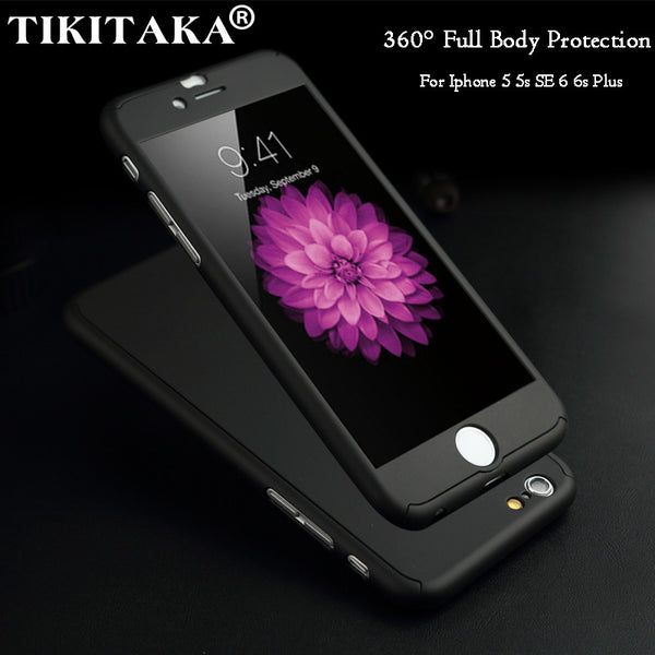 Tikitaka Full body beskyttelse til iPhone 6, 6s og 6 pluss