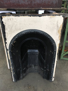 Reclaimed Victorian Cast Iron Fire Insert