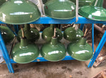 Vintage Benjamin Factory Industrial Enamel Lamps Different Sizes Available