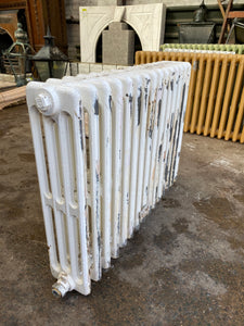 Victorian 4 Column Cast Iron Radiator 15 Sections