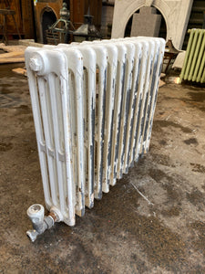 Victorian 4 Column Cast Iron Radiator 12 Sections