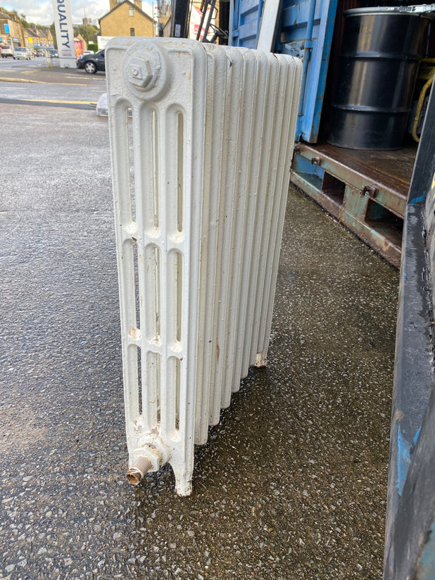 Victorian 4 Column Cast Iron Radiator 9 Sections