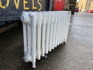 Victorian 3 Column Cast Iron Radiator 9 Sections