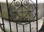 Reclaimed Weathered Victorian Wrought Iron Gate