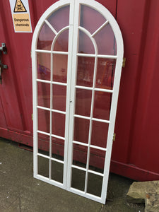 Pair Of Internal Arched Glass Panel Doors 2 Sets Available