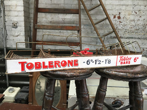 Original TOBLERONE-TOBLER Counter Display Original Sign