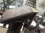 Victorian Oak Church Lectern Very Impressive Antique Church History Menu Stand