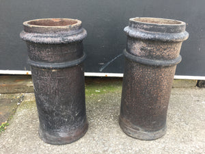 Antique Victorian Chimney Pots Matching Pair £100 MORE AVAILABLE