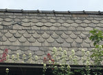 RECLAIMED SHAPED ROOFING SLATES - ARROWHEAD-FISHTAIL-ARCHED-ROUND