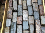 Reclaimed Mixed Granite Cobbles-Random Stone Setts