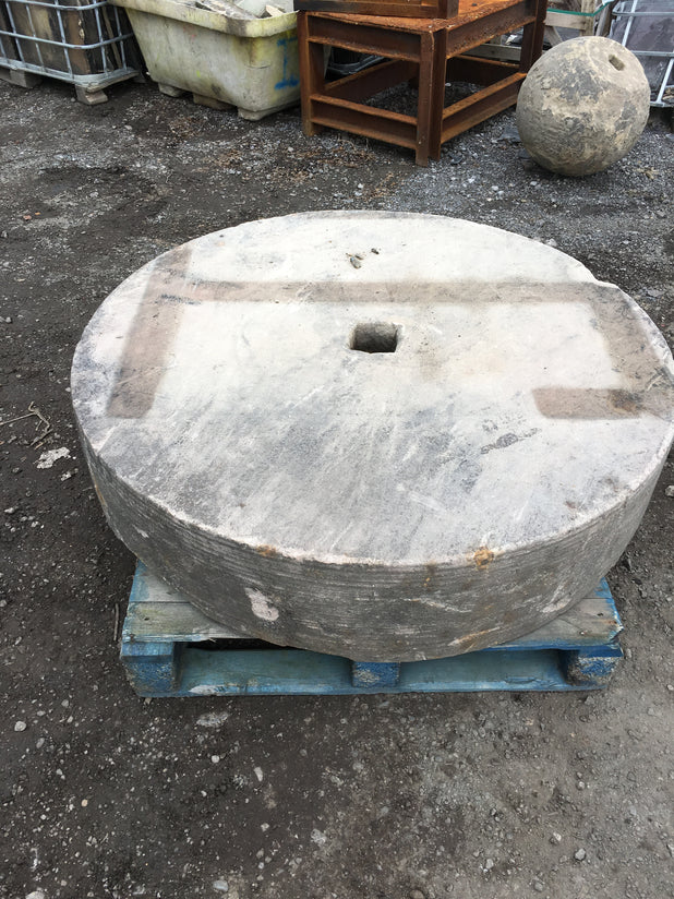 Large Stone Mill Wheel