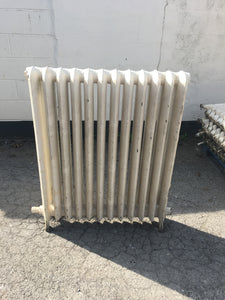 Pair Of Cast Iron Radiators