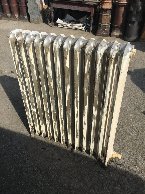 Three Cast Iron Radiators
