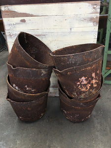 Vintage Cast Iron Melting Pots