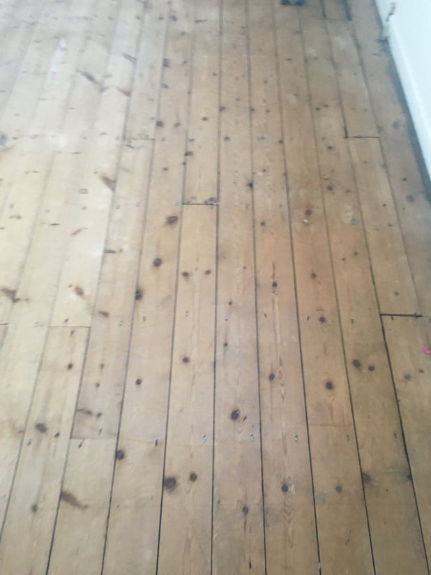 Reclaimed Pine Floorboards Victorian