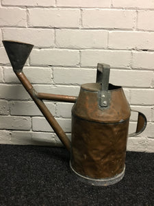 Victorian Large Copper Handmade Watering Can