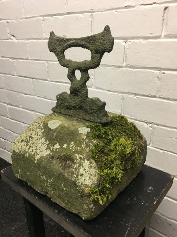 Antique Cast Iron Boot Scraper