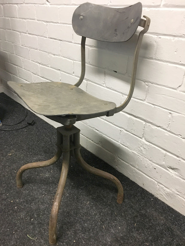 Original Retro Machinist Swivel Chair