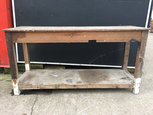 Vintage Retro Mill Mending Table 6FT Reclaimed