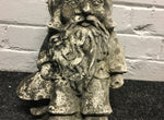 Vintage Garden Gnome Statue Reclaimed