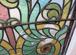 Large Antique Stained Glass Windows/Panels Reclaimed