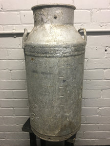 Co-op Aluminium Milk Churn