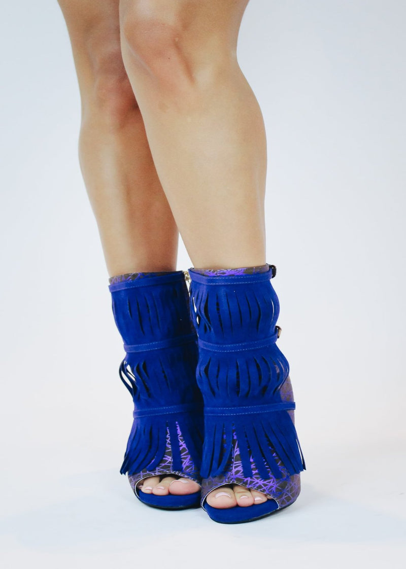 Alize Purple | Royal Blue Bootie