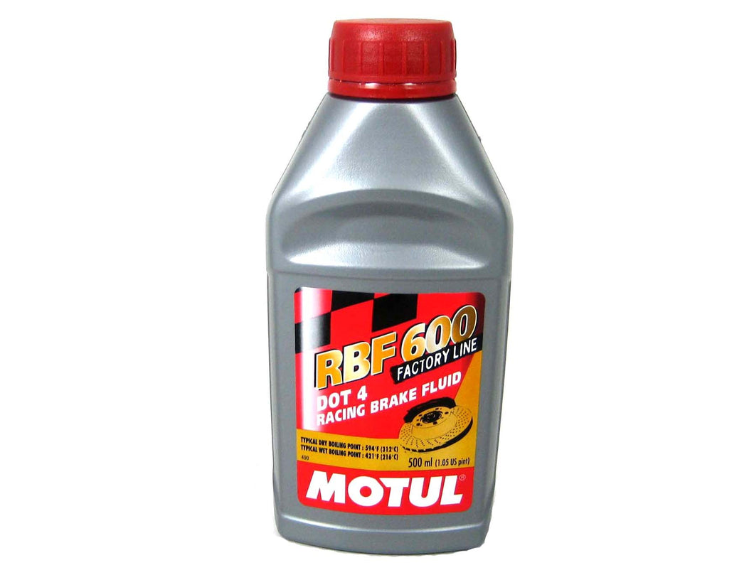 Motul RBF600 DOT4 Brake Fluid
