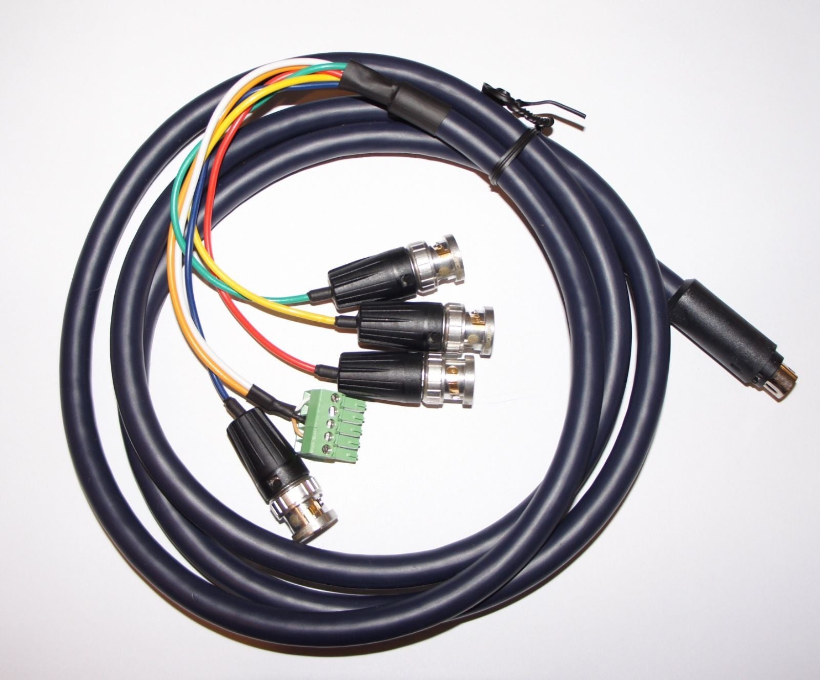 Bnc To 8 Pin Mini Din For Extron Xrgb Pro Coaxial Coax Cable Schematic Multicore