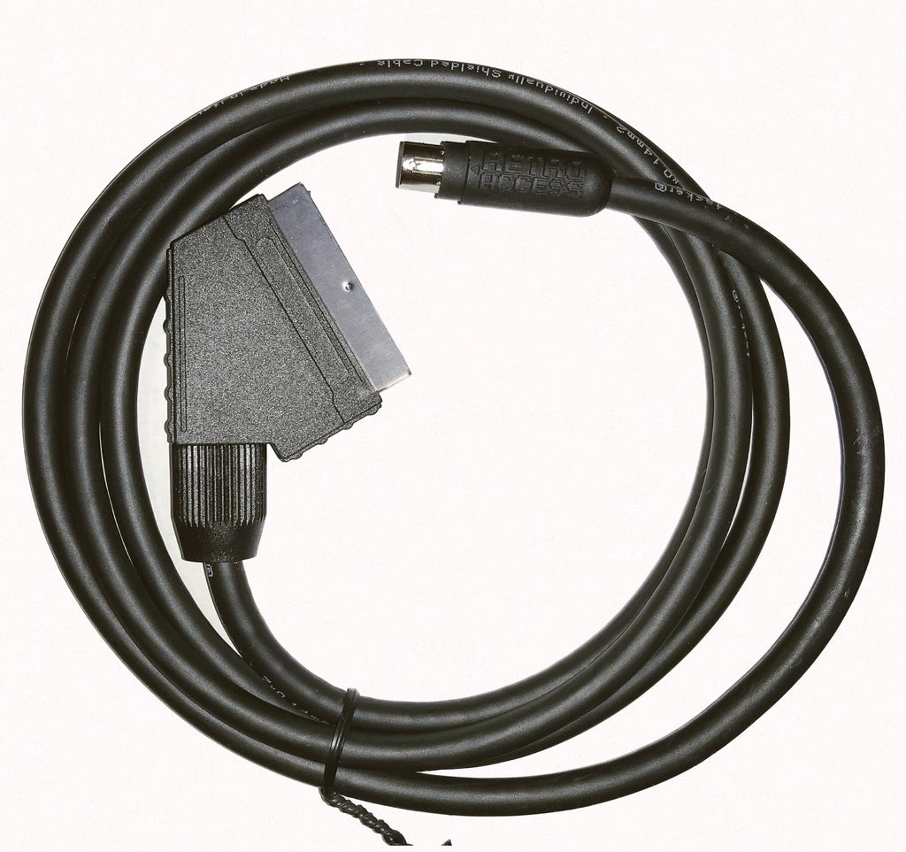 Fortraflex - 8 pin mini din RGB SCART cable (for mods)