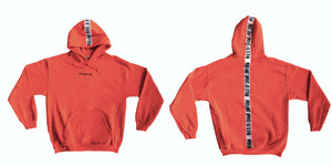 For hangover only -  Orange maxi hoodie