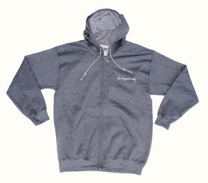 WALK OF SHAME UNIFORM / For Hangover Only – charcoal Hoodie