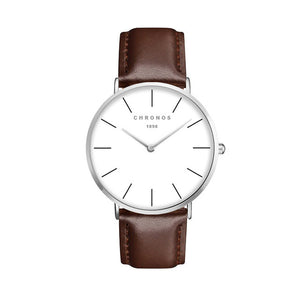 Chronos Classic Watch - Leather Strap