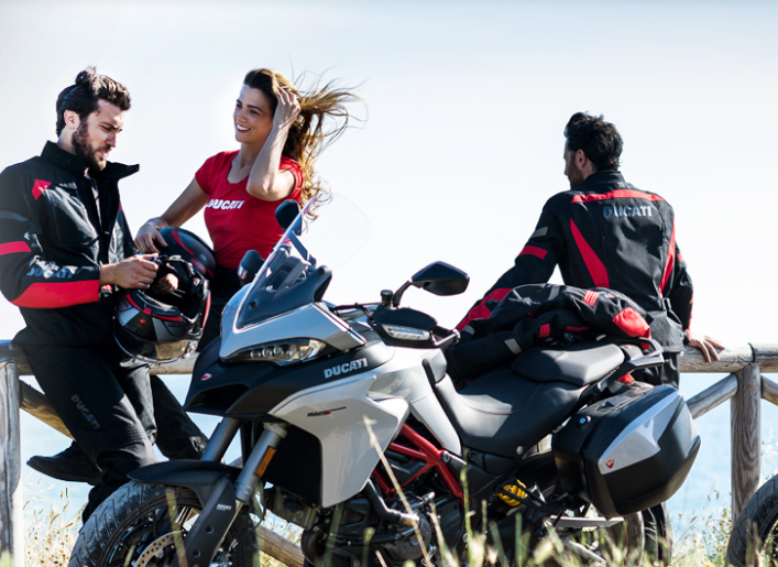 Multistrada on the road