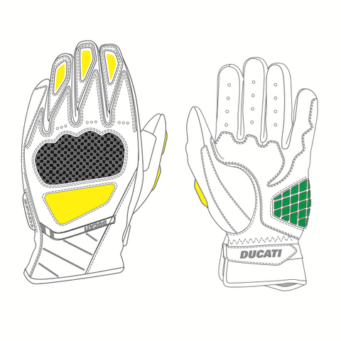 Ducati Gloves Sport C3 Gloves Protection