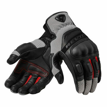 REV'IT! Dirt 3 Motorcycle Gloves Black Red