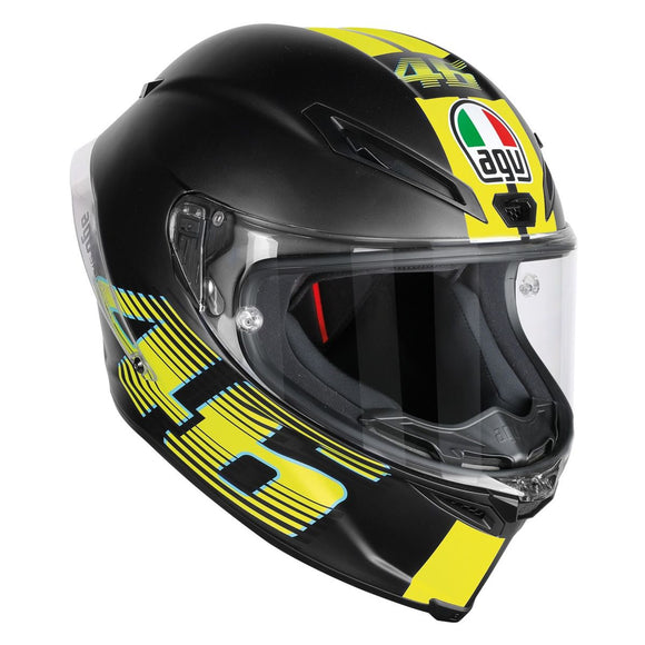 AGV CORSA R V46 Matte Black Helmet Size Medium/Large