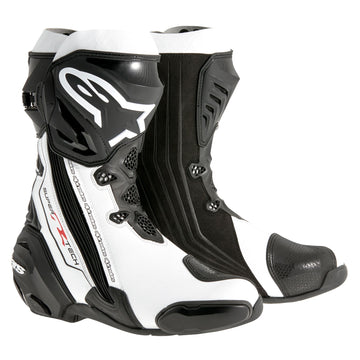 Alpinestars Supertech R Boot Black/White