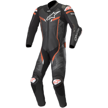 Alpinestars Men's GP PRO V2 1 Piece Leather Motorcycle Riding Suit (Tech Air Compatible)