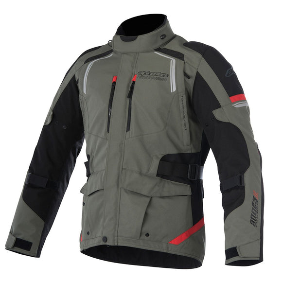 Alpinestars Andes V2 Drystar® Jacket Military Green/Black/Red