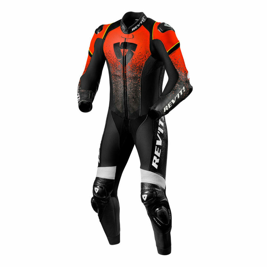 REV'IT! One Piece Quantum Leather Motorcycle Race Suit
