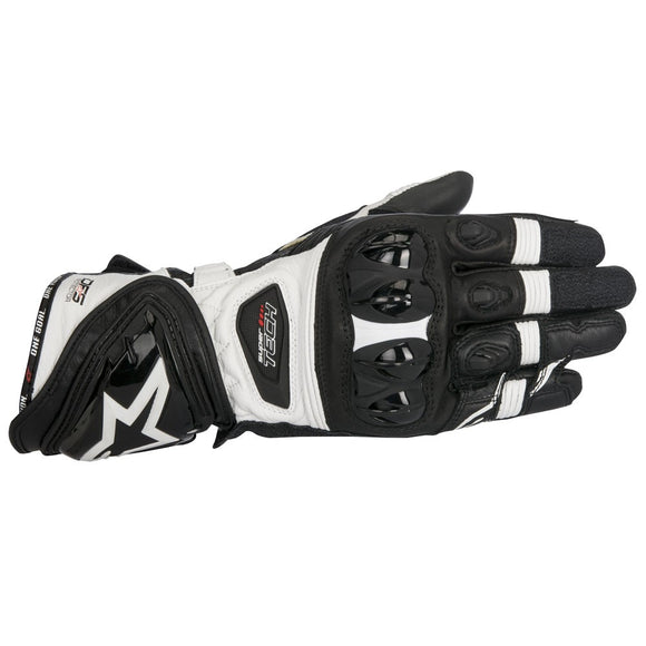 Alpinestars Supertech Leather Glove Black White