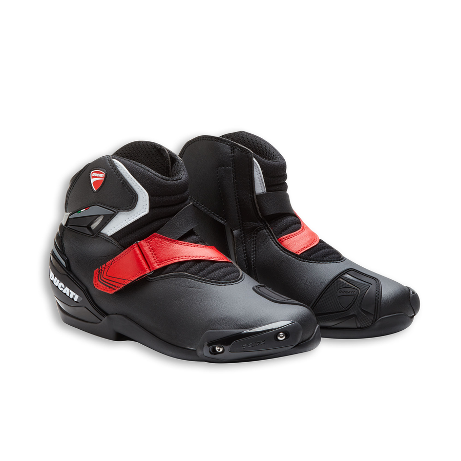 Ducati Company Theme Technical Short Motorcycle Boots by TCX