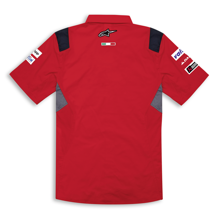 Ducati Corse GP 20 Team Replica Short Sleeve Button Up Shirt